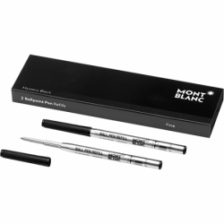 Recharge Stylo Bille Montblanc - Couleur : Mystery Black