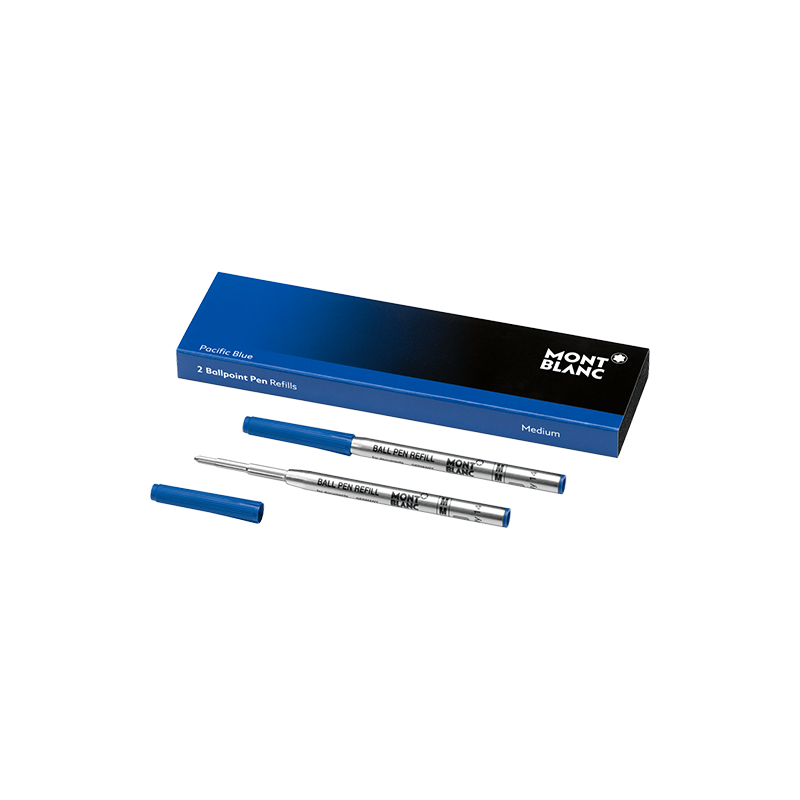 Recharge Stylo Bille Montblanc - Pacific Blue - Taille M