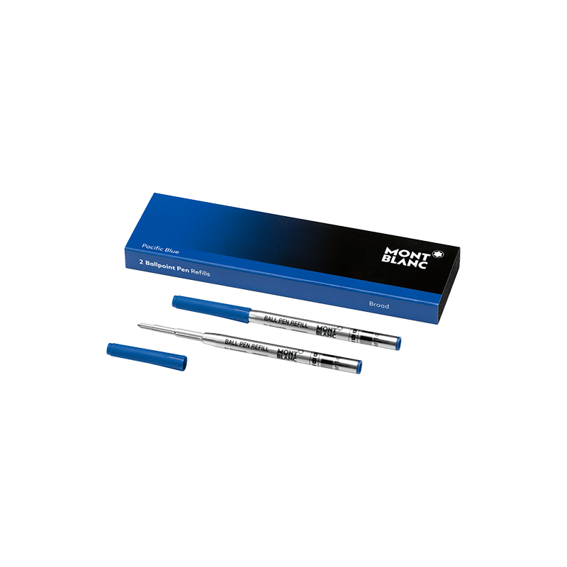 Recharge Stylo Bille Montblanc - Pacific Blue - Taille : Large