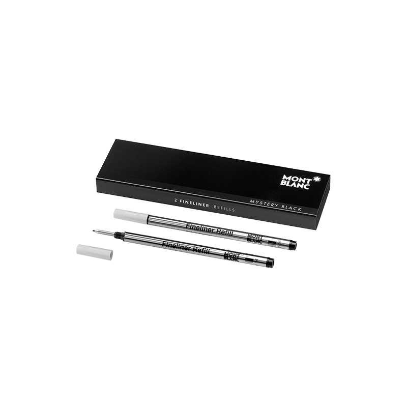 Recharge Feutre fin Montblanc Mystery Black - Taille B