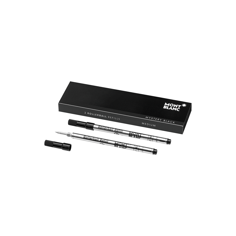 Recharge Rollerball Montblanc Mystery Black - Taille M
