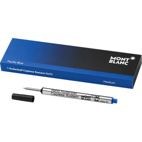 Recharge Rollerball Capless Montblanc - Pacific Blue - Taille M
