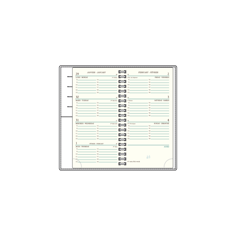 Recharge Agenda Mignon AS16
