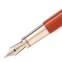 Stylo Plume Montblanc - Heritage Spider Corail