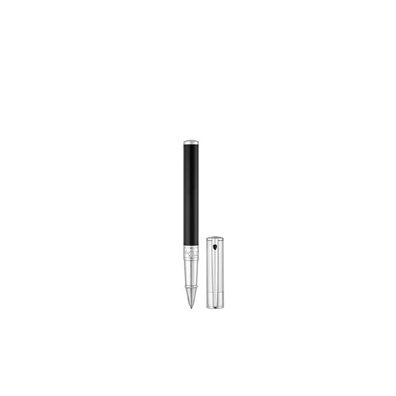 Rollerball ST Dupont - D-Initial Noir & Chrome