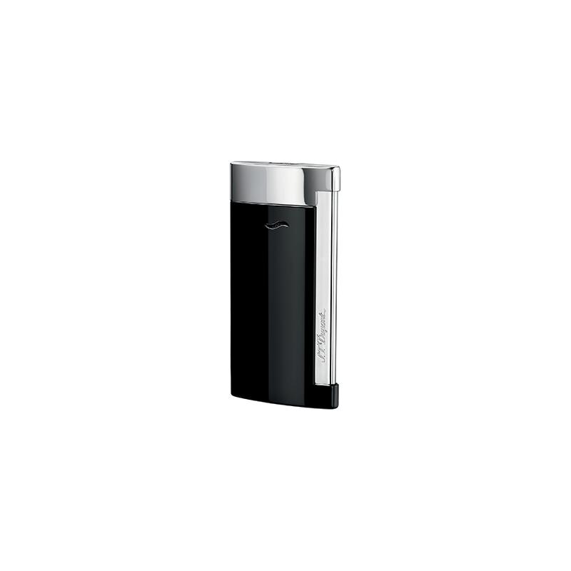 Briquet ST Dupont Slim 7 Chrome Noir