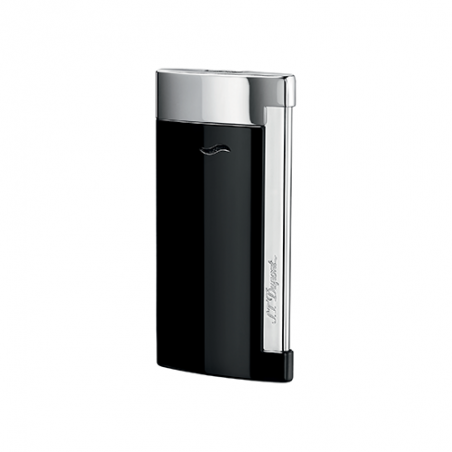 Briquet ST Dupont Slim 7 Chrome Noir
