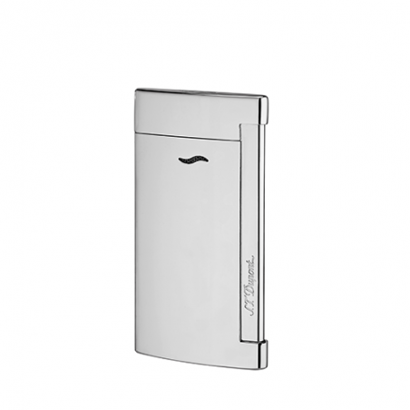Briquet ST Dupont Slim 7 Gris chrome