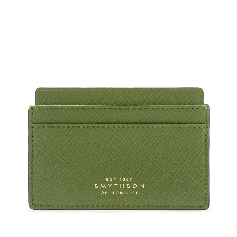 Porte-cartes Smythson - Panama Moss Green